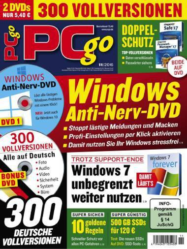 : PC Go Magazin  November No 11 2016