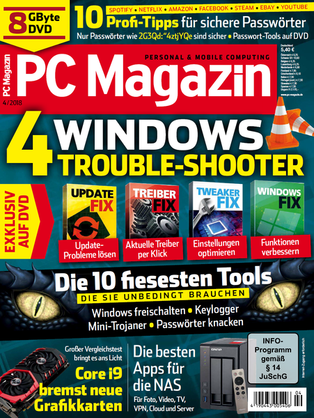 PC Magazin April No 04 2018