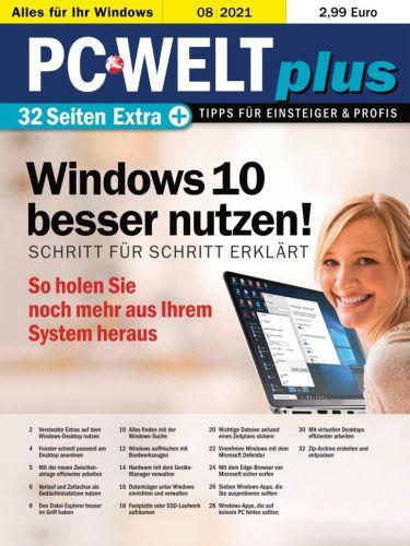 Cover: Pc Welt Plus Magazin No 08 2021