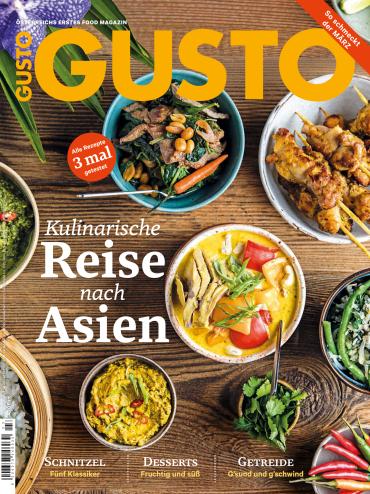Gusto Magazin (richtig gut kochen) März No 03 2018
