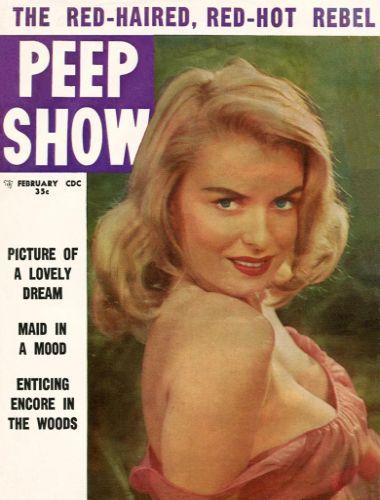 Cover: Peep Show Vol 05 No 33 Feb 1958