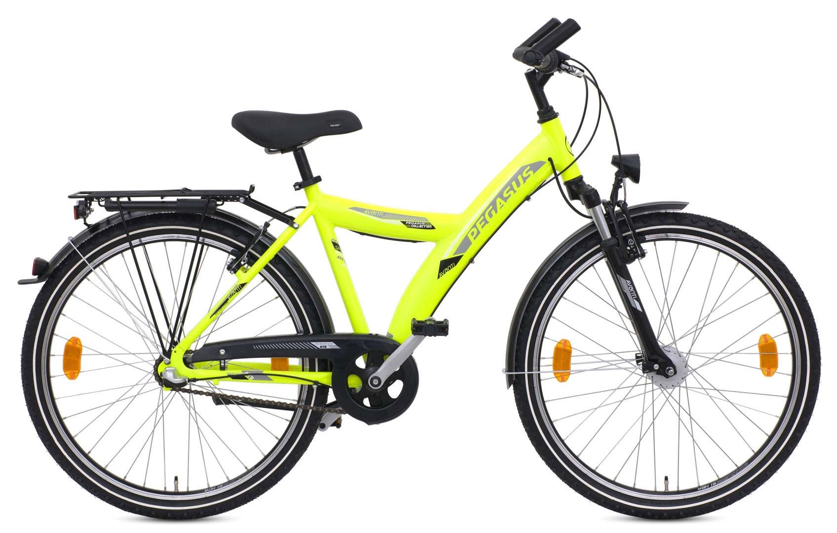 jugend fahrrad pegasus avanti 26 zoll shimano 7 gang 38 cm. Black Bedroom Furniture Sets. Home Design Ideas
