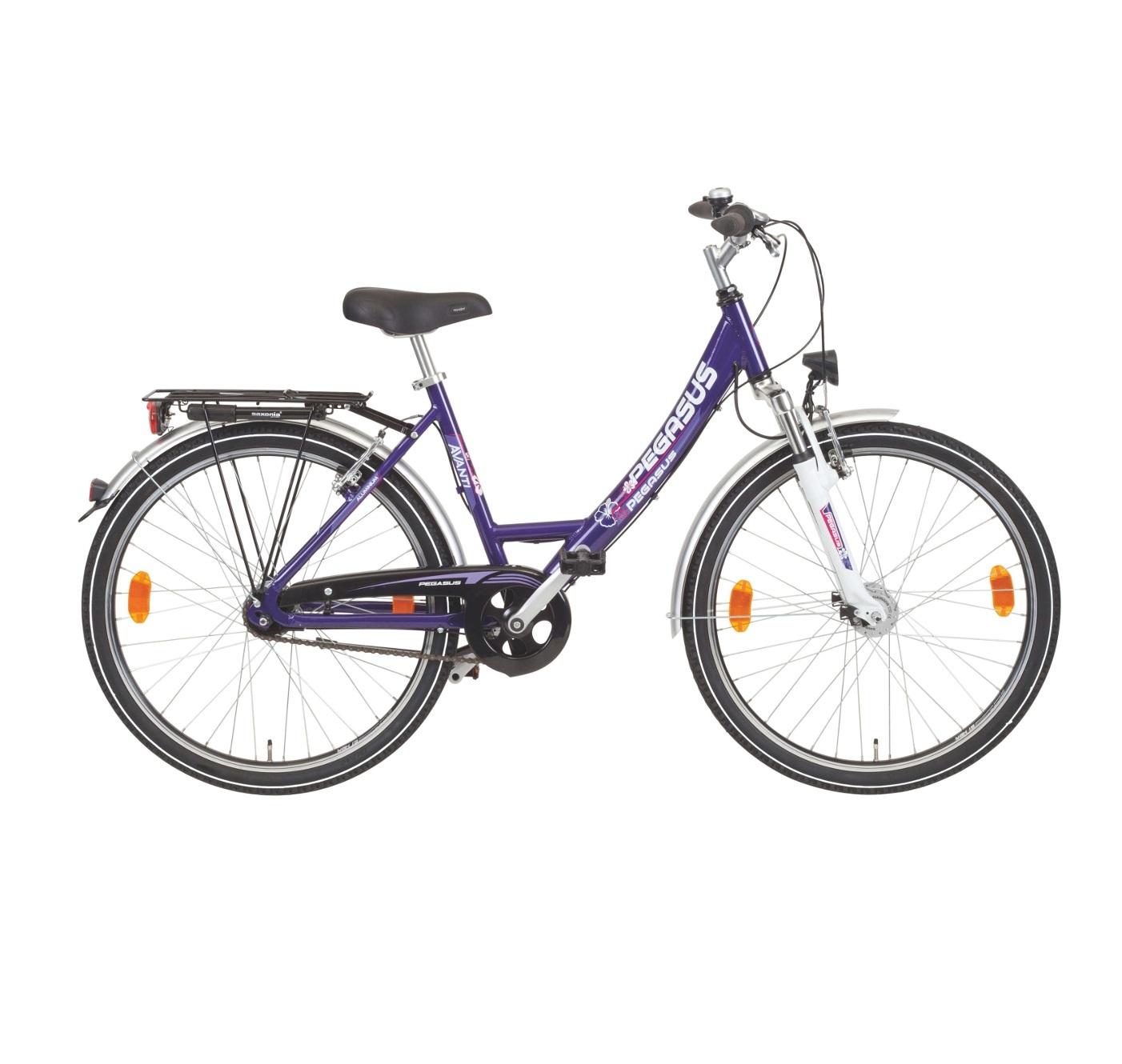 fahrrad pegasus avanti 26 zoll m dchen city bike shimano 7. Black Bedroom Furniture Sets. Home Design Ideas