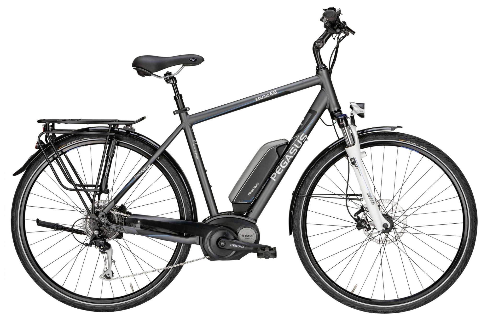 herren elektro fahrrad pegasus solero e8 f shimano bosch e. Black Bedroom Furniture Sets. Home Design Ideas