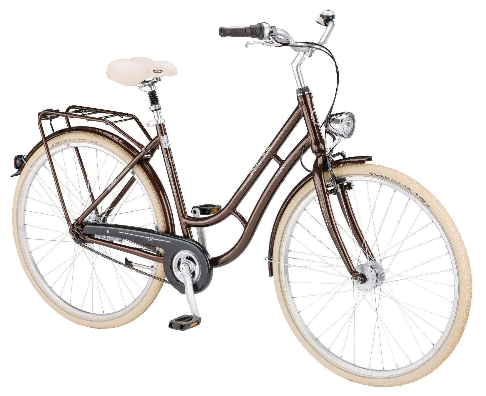 damen pegasus 1949 28 zoll fahrrad shimano 3 gang braun 45. Black Bedroom Furniture Sets. Home Design Ideas