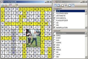 Kreuzworträtsel generator