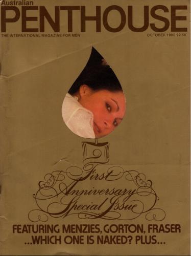 Cover: Penthouse Australia No 10 1980