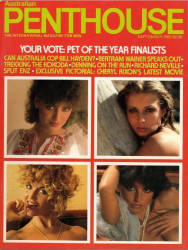 Cover: Penthouse Australia No 09 1980