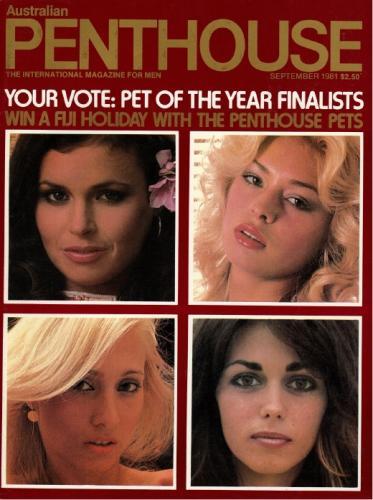 Cover: Penthouse Australia No 09 1981