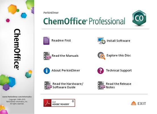 download PerkinElmer ChemOffice Professional v17.1