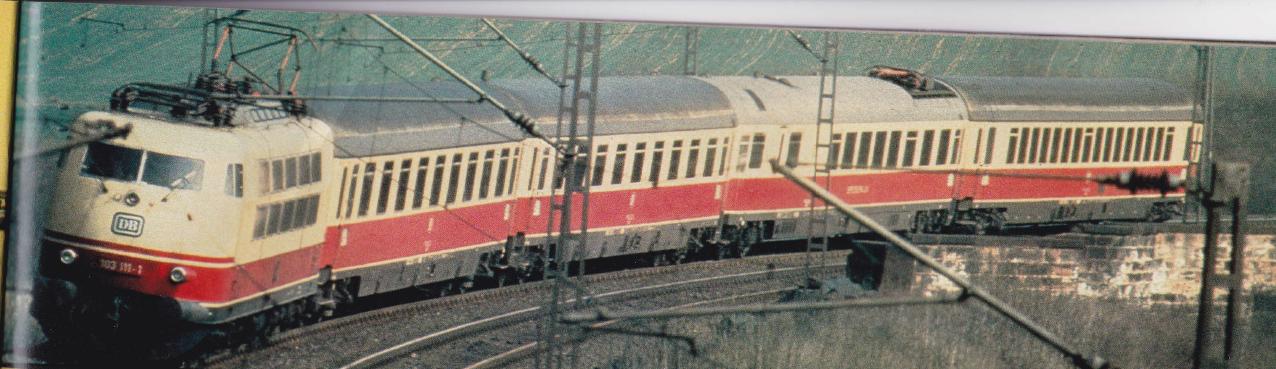 Züge in Langeweihla/Schnellzüge Perspektivetee
