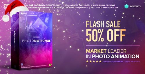 Photo Motion Pro-Professional 3D Photo Animator-Project for After Effects-Videohive