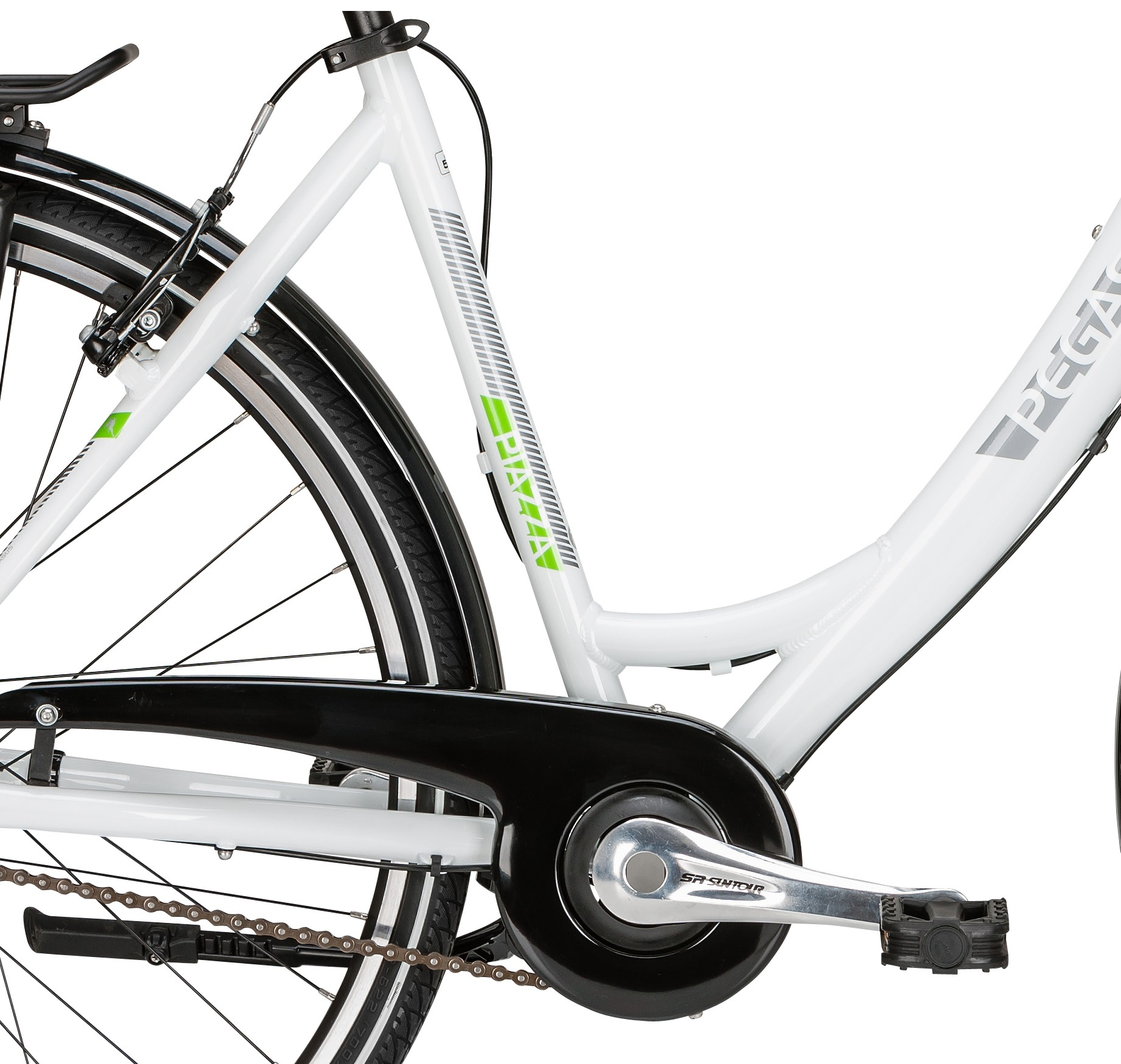 trekking fahrrad pegasus piazza 28 zoll wei shimano 7 g. Black Bedroom Furniture Sets. Home Design Ideas