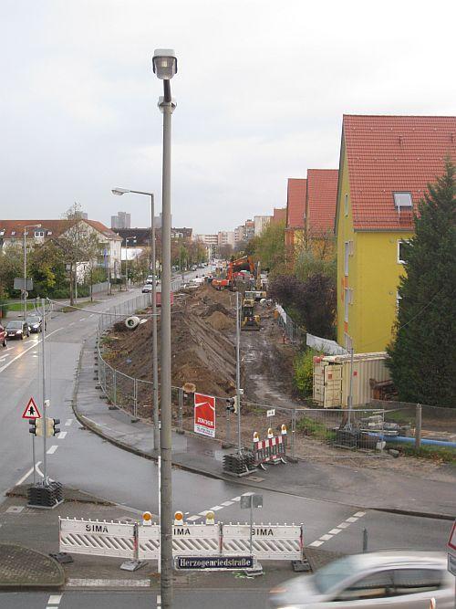 früher tunnel in ludwigshafen stadtmitte