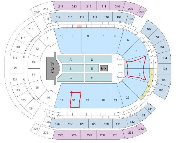 Best seats for a concert? | NeoGAF