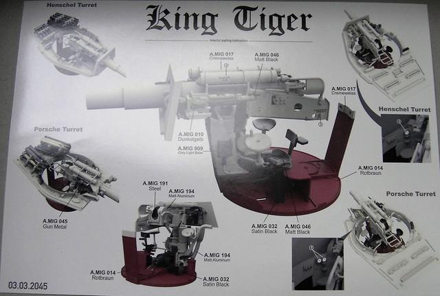 Takom King Tiger 1:35 mit Inneneinrichtung und Zimmerit Pict52702f4s96