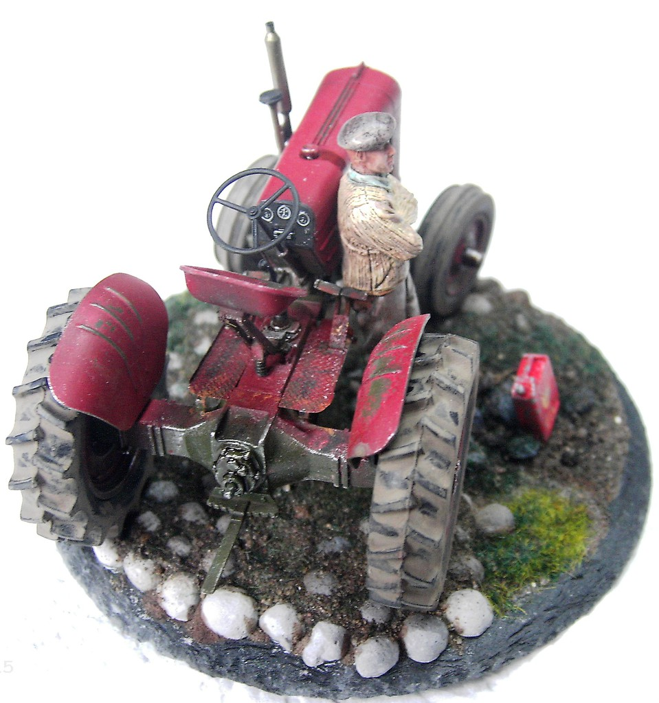 US Army Tractor in 1:35 von ThunderModel Pict62342d6up2