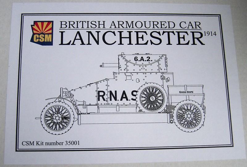 Lanchester Armoured Car 1:35 CopperstateModels Pict6918241sht
