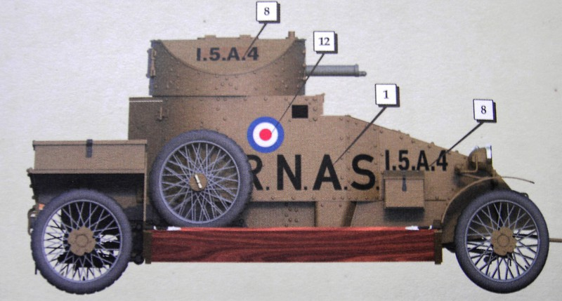 Lanchester Armoured Car 1:35 CopperstateModels Pict69442q3siv