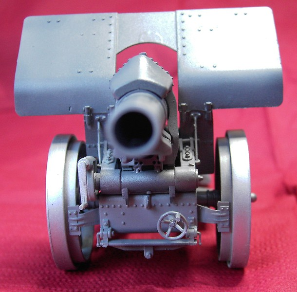 Krupp 21 cm Mörser in 1:35 von Takom Pict774023cf5n