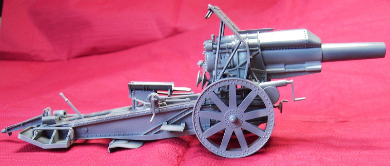 Krupp 21 cm Mörser in 1:35 von Takom Pict77422y1exo