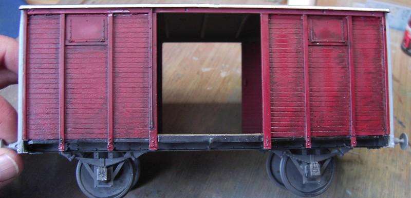 gedeckter Güterwaggon 18t in 1:35 Pict80562ifkvv