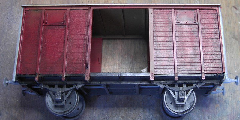 gedeckter Güterwaggon 18t in 1:35 Pict806024okox