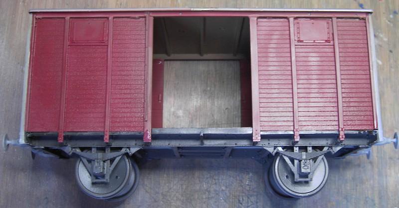 gedeckter Güterwaggon 18t in 1:35 Pict80612g8k71