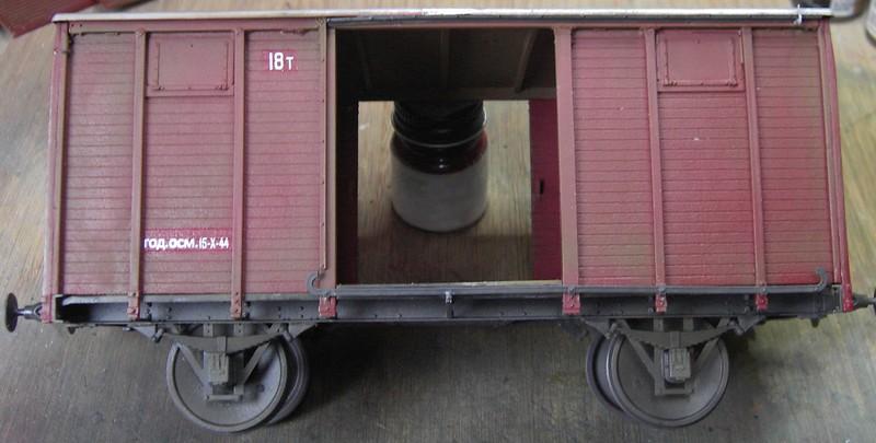 gedeckter Güterwaggon 18t in 1:35 Pict8094280khy