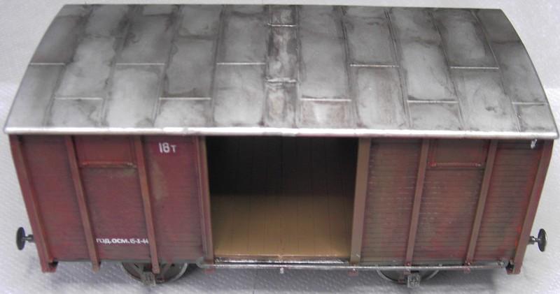 gedeckter Güterwaggon 18t in 1:35 Pict80982kpjtd