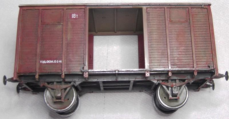gedeckter Güterwaggon 18t in 1:35 Pict80992dfj3m