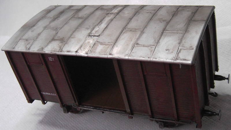 gedeckter Güterwaggon 18t in 1:35 Pict81032r6k1i