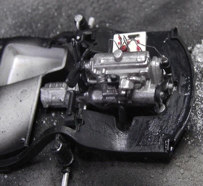 Cremeschnittchen - Renault 4 CV in 1:24 von Heller Pict85502gejoy