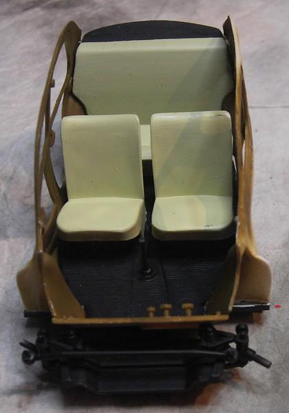 Cremeschnittchen - Renault 4 CV in 1:24 von Heller Pict86692i6jy8