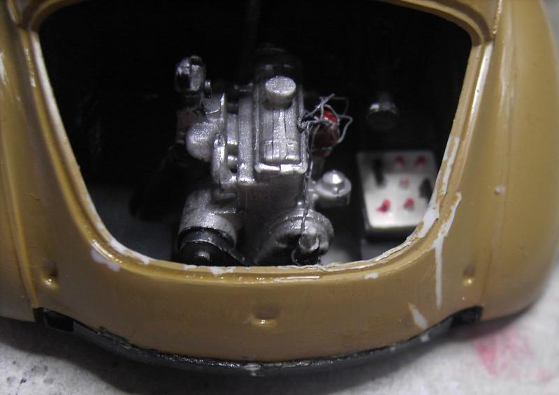 Cremeschnittchen - Renault 4 CV in 1:24 von Heller Pict86712wlj1g