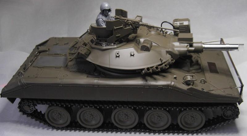 M551 Sheridan als Standmodell / Tamiya, 1:16 Pict87932iiket