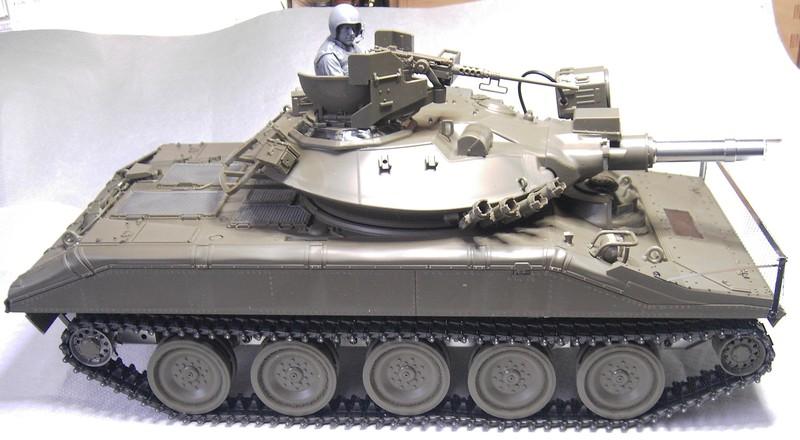 M551 Sheridan als Standmodell / Tamiya, 1:16 Pict8794268ky6