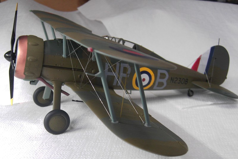 Gloster Gladiator MK II / ICM 1:32 Pict9136209jyy