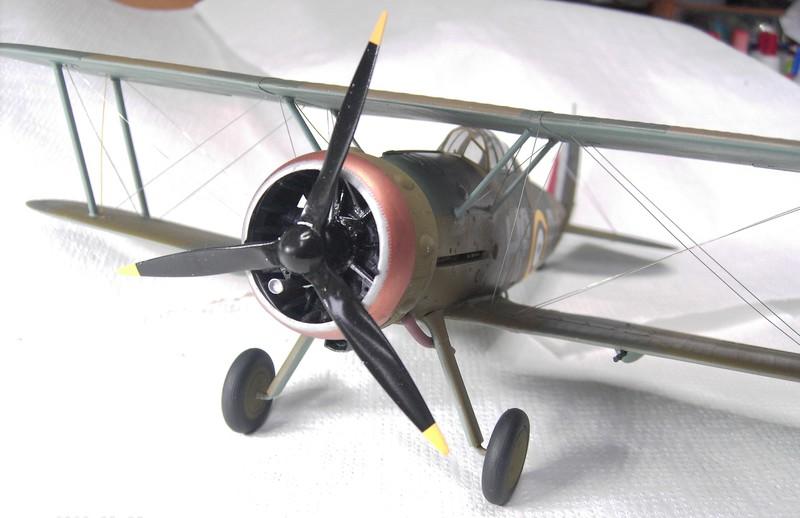 Gloster Gladiator MK II / ICM 1:32 Pict91382z4k2t