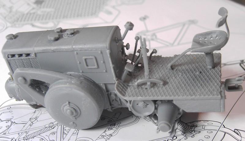 German Tractor D8506 in 1:35 von MiniArt Pict92502h4k4e