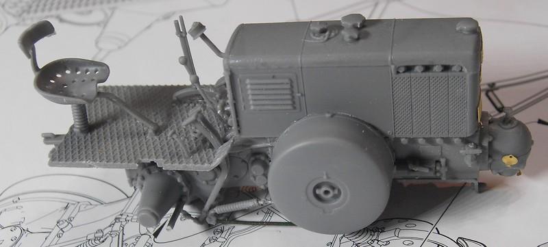 German Tractor D8506 in 1:35 von MiniArt Pict92512n3k1a
