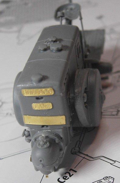 German Tractor D8506 in 1:35 von MiniArt Pict92522hnkte