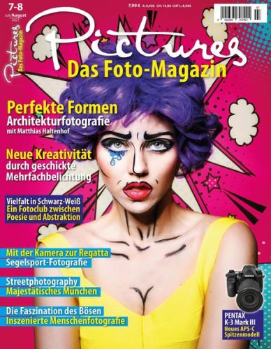 Cover: Pictures - Das Foto-Magazin No 07-08 Juli-August 2021
