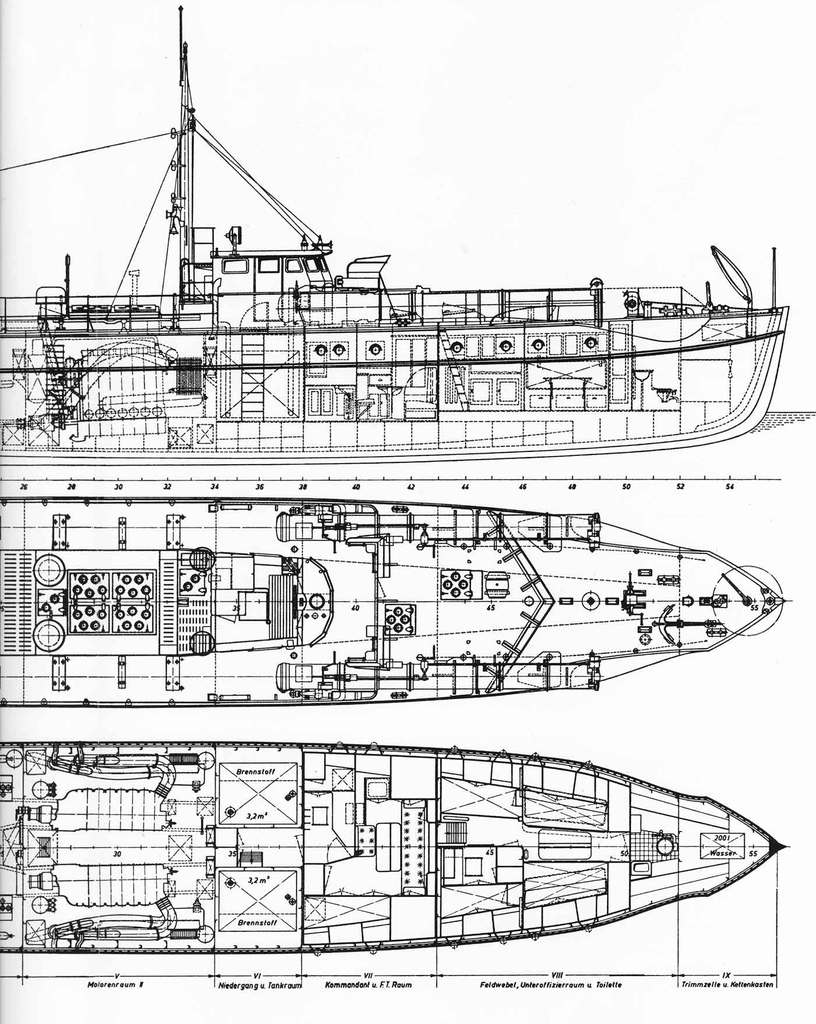 Schnellboote Série S7-S13 de la Reichsmarine 1:250 Planz6kj2
