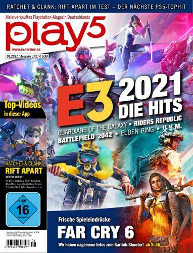 Cover: Play5 Magazin No 08 2021