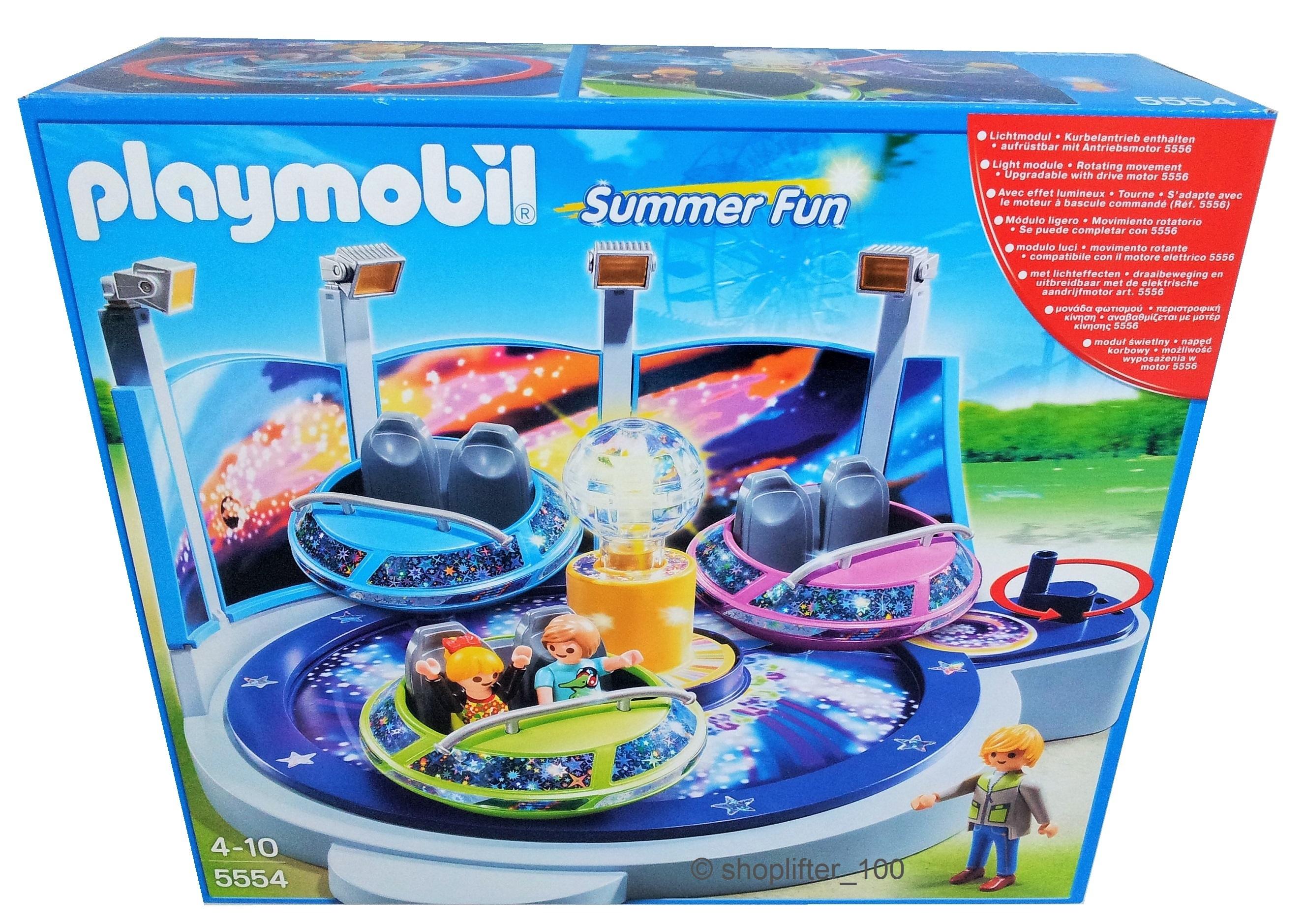 playmobil 5554 breakdancer mit lichteffekten neu. Black Bedroom Furniture Sets. Home Design Ideas