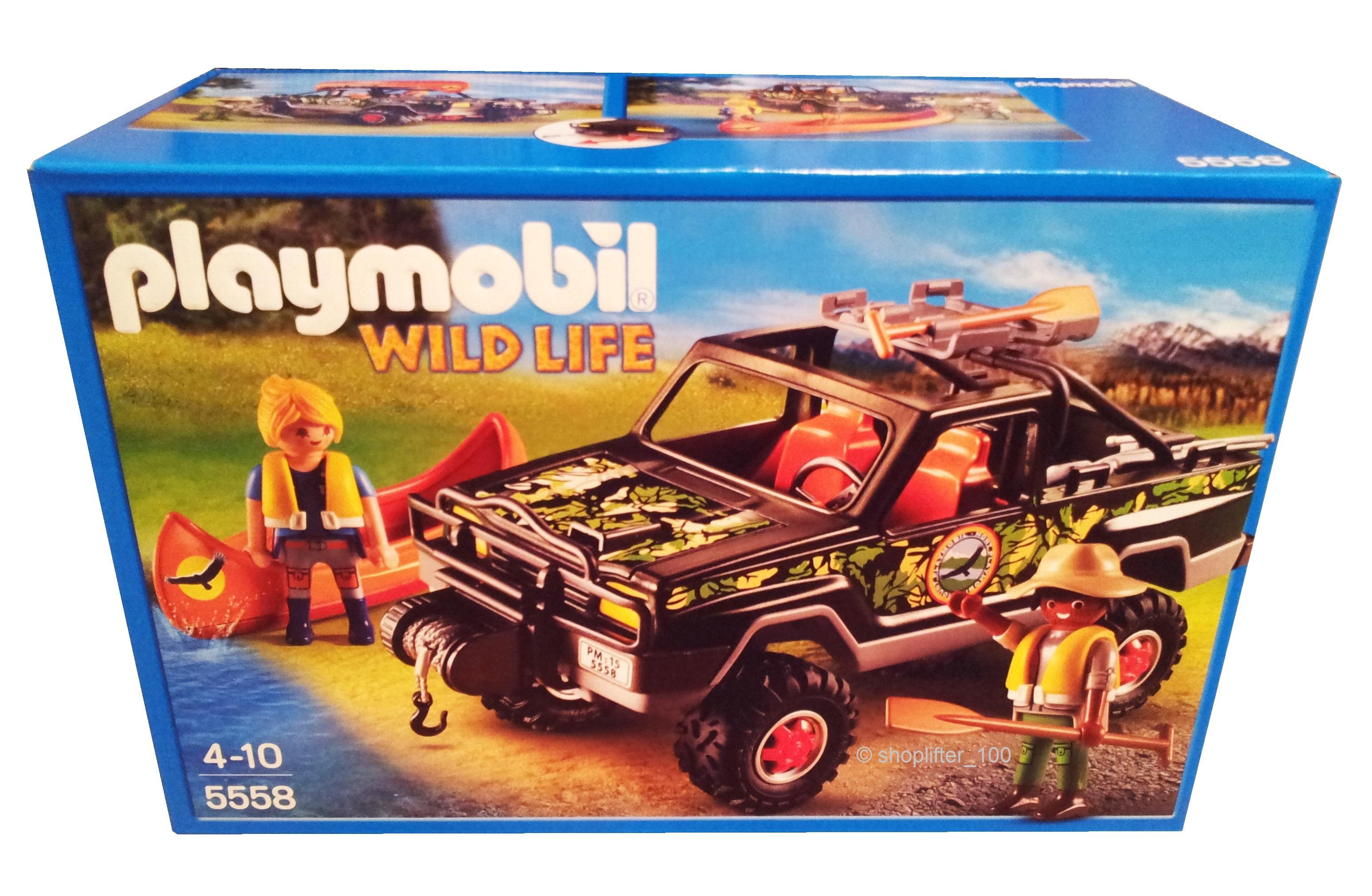 NEU originalverpackt Playmobil 5558 Abenteuer Pickup