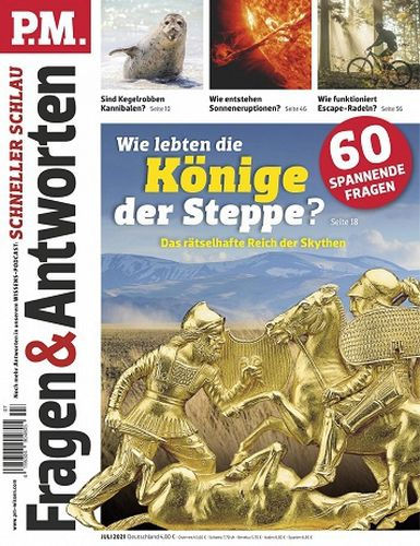 Cover: P M  Fragen und Antworten Magazin No 07 Juli 2021