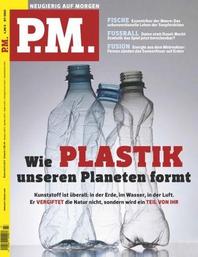 Cover: P M  Wissensmagazin (Neugierig auf Morgen) No 07 2021