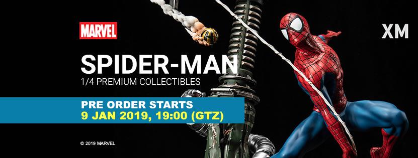 Premium Collectibles : Spiderman** Pobannerspidermang9dz2